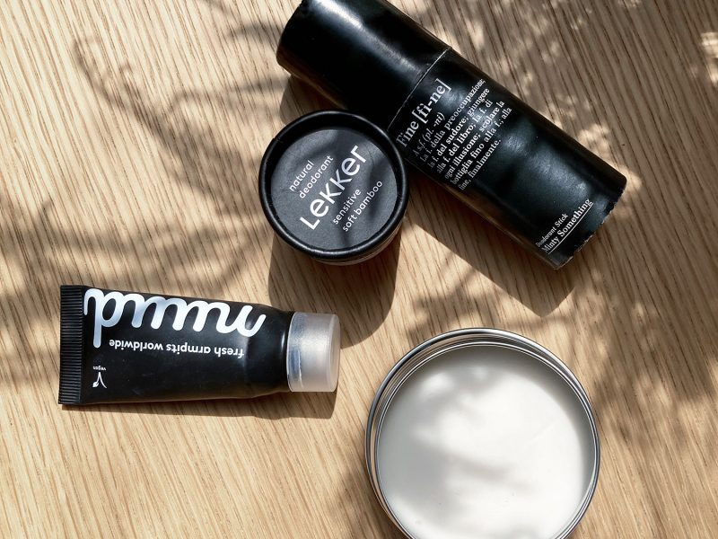 7 natuurlijke en vegan deodorants zonder aluminium